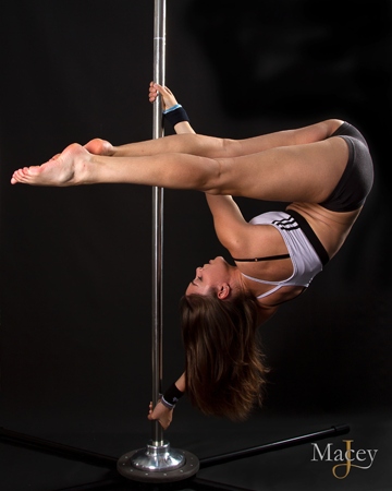 Angela Hawkes Fitness Pole Dancing Instructor