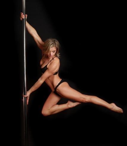 Angela Houck Pole Dancing