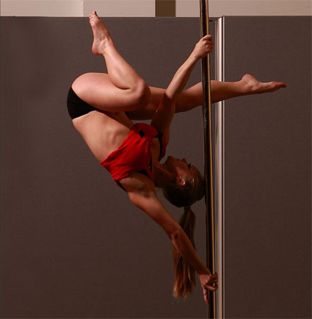 In The Shadows Pole Dancing Showcase