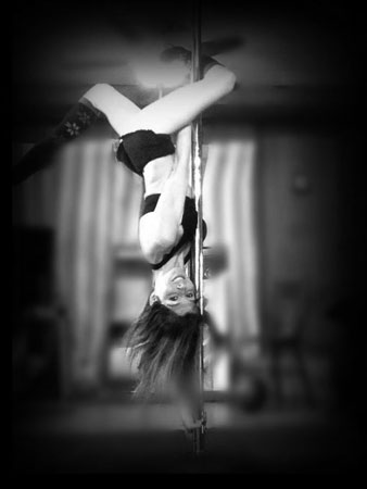 Inspirational Pole Dancers Bree Invert