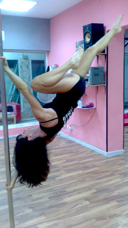 Michelle Birks Pole Dancing Instructor