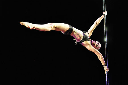 Midwest Pole Dancing-Competition Becca