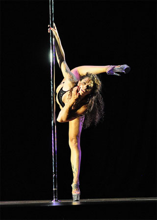 Midwest Pole Dancing-Competition Melissa Schrader