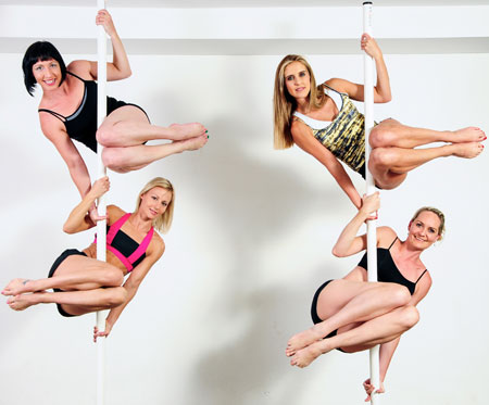 Pole Studio Instructor Training Students