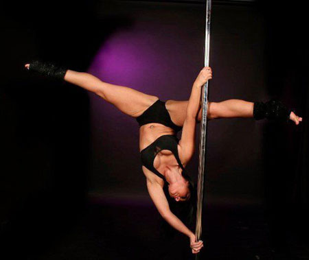 Sam Amey Pole Dancer