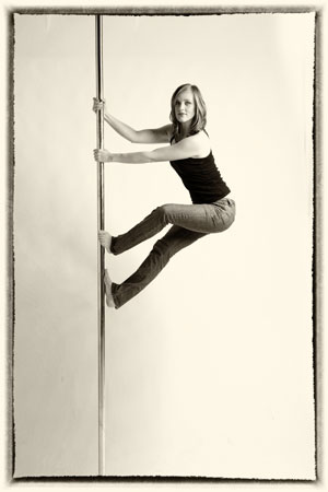 Sarah Peys Pole Dance Instructor