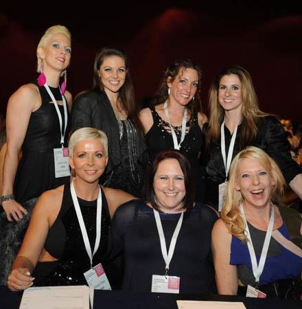 UKPPC 2012 pole dance judges