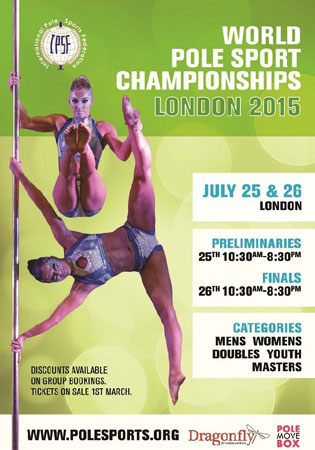 World Pole Sports Championships15 flyer