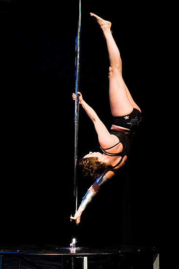 Spin City pole dancing picture